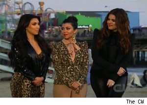 Khloe, Kourtney &amp; Kim Kardashian, 'America's Next Top Model'