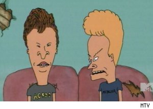 'Beavis &amp; Butt'-head' - 'Werewolves of Highland; Crying'