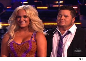 Lacey Schwimmer and Chaz Bono