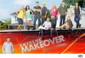 'Extreme Makeover: Home Edition' bus