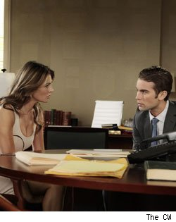 Elizabeth Hurley and Chace Crawford