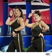 Casey Wilson and Megan Mullally