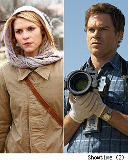 Homeland, Dexter Ratings