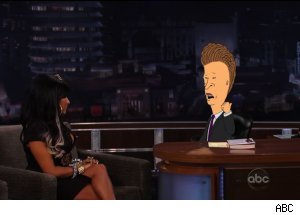Snooki, 'Beavis and Butt-head' - 'Jimmy Kimmel Live'