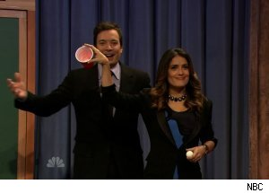 Salma Hayek, 'Late Night with Jimmy Fallon'