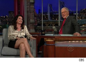 Sean Young, 'Late Show with David Letterman'