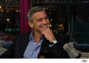 George Clooney, 'Late Show with David Letterman'