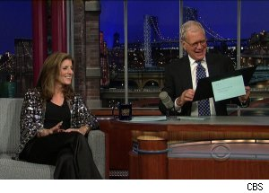 Caroline Kennedy, 'Late Show with David Letterman'