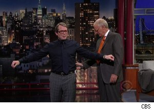 Matthew Broderick, 'Late Show with David Letterman'