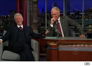 Bill Clinton, 'Late Show with David Letterman'