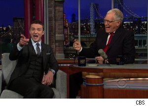 Justin Timberlake, 'Late Show with David Letterman'