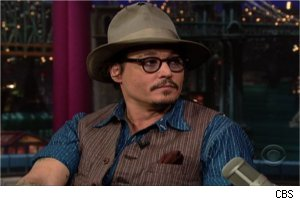 Johnny Depp, 'Late Show'