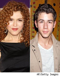 Nick Jonas, Bernadette Peters Book 'Smash' Roles
