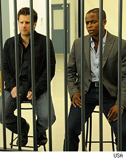 'Psych' stars James Roday & Dule Hill