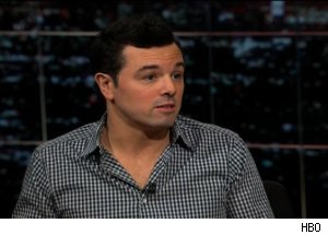 Seth MacFarlane, 'Real Time with Bill Maher'