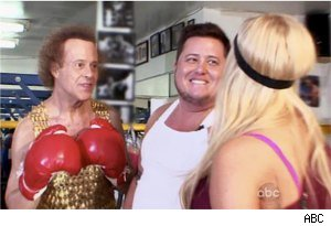 Richard Simmons, Chaz Bono, Lacey Schwimmer