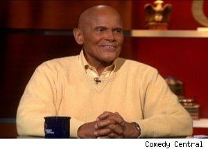 Harry Belafonte, 'The Colbert Report'