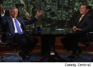 Gov. Jon Huntsman, 'The Colbert Report'