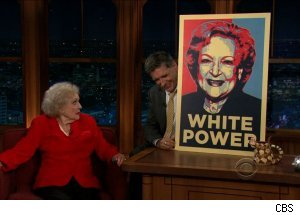 Betty White, 'The Late Late Show with Craig Ferguson'