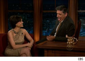 Carla Gugino, 'The Late Late Show with Craig Ferguson'