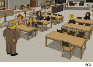 'The Breakfast Club' - 'The Simpsons'