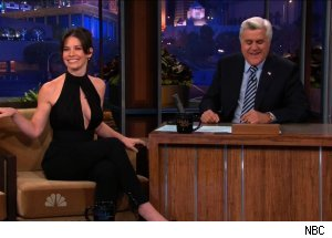 Evangeline Lilly, 'The Tonight Show with Jay Leno'