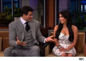 Kris Humphries & Kim Kardashian, 'The Tonight Show with Jay Leno'