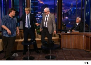 Jack Black, Owen Wilson &amp; Steve Martin, 'The Tonight Show with Jay Leno'