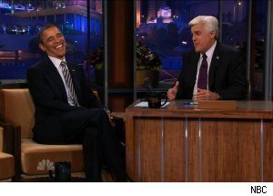 President Barack Obama, 'The Tonight Show with Jay Leno'
