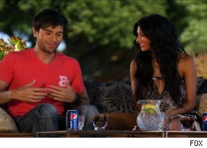 Enrique Iglesias & Nicole Scherzinger, 'The X Factor'