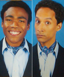 Troy & Abed... in ascots!