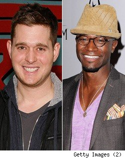 Michael Buble, Taye Diggs