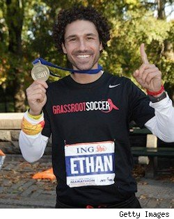 Ethan Zohn NYC marathon