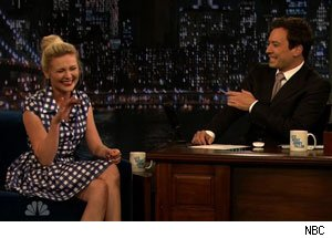 Kirsten Dunst and Jimmy Fallon