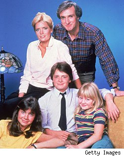 The cast of 'Family Ties'