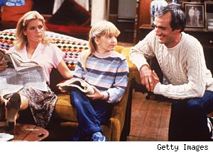 Meredith Baxter, Tina Yothers & Michael Gross, 'Family Ties'