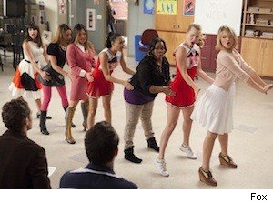 glee I kissed a girl