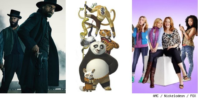 'Hell on Wheels' / 'Kung Fu Panda: Legends of Awesomeness' / 'I Hate My Teenage Daughter'
