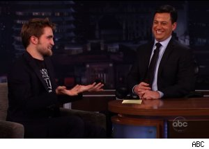 Robert Pattinson, 'Jimmy Kimmel Live'