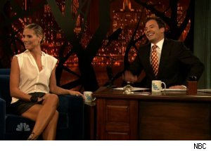 Heidi Klum, 'Late Night with Jimmy Fallon'