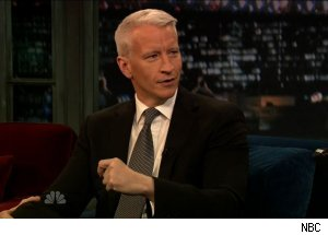 Anderson Cooper, 'Late Night with Jimmy Fallon'