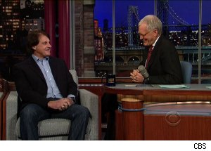Tony La Russa, 'Late Show with David Letterman'