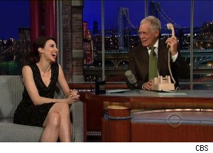 Whitney Cummings, 'Late Show with David Letterman'