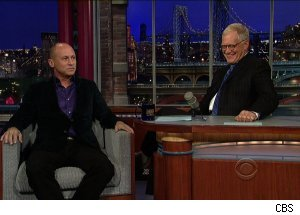 Mike Judge, 'Late Show with David Letterman'