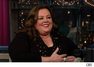 Melissa McCarthy, 'Late Show with David Letterman'