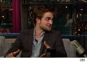 Robert Pattinson, 'Late Show with David Letterman'