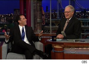Jerry Seinfield, 'Late Show with David Letterman'