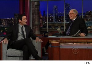 Ty Burrell, 'Late Show with David Letterman'