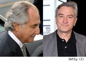Robert De Niro to Play Bernie Madoff in HBO Movie