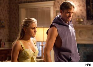 Alexander Skarsgard On His 'True Blood' Menage a Trois